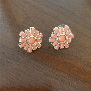 J Crew stud earrings